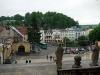 pohled na centrum obce z ochozu kostela